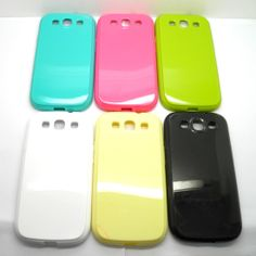TPU colorful phone case for Samsung