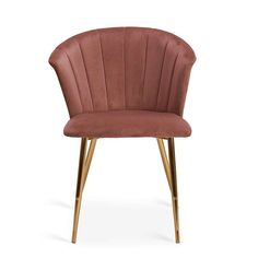 Kendall Velvet Dining Chair Blush Dunelm Velvet Chair