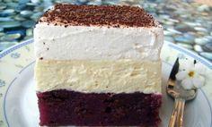 Kinder mliečny rez - rýchly a výborný koláčik bez múky! No Bake Desserts, Dessert Recipes, Kolaci I Torte, Croatian Recipes, Cheesecake Cake, Ramadan Recipes, English Food, Sweet Tarts, Love Cake