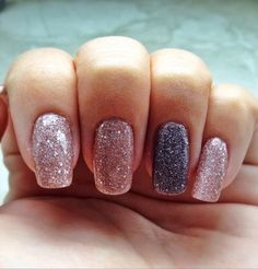 This is an example of all previous steps + nail design, see my other guide for instructions.