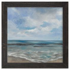 """Annenberg Beach"" - Art Print by Kelli Kunkle-Day in beautiful frame options and a variety of sizes."