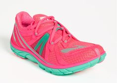 """Brooks Pink & Mint """"PureConnect 2"""" Running Shoe"""