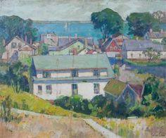 """""""Cape Cod,"""" Pauline Palmer, oil on board, 20 x 24"""", private collection."""