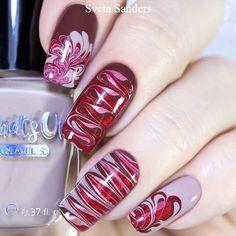 Girls Nail Designs, Nail Tip Designs, Classy Nail Designs, Holiday Nail Designs, Holiday Nail Art, Pedicure Nail Art, Toe Nail Art, Cute Toe Nails, Pretty Nails