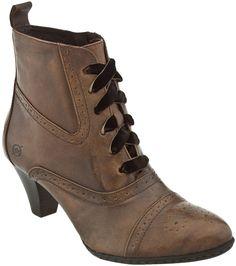 Shortie granny boot.