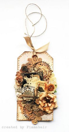 Tag - Prima (Almanac collection) by finnabair, via Flickr