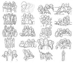 Group Photography Poses Cheat Sheet