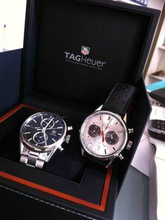 TAG Heuer Carrera 1887 and TAG Heuer Carrera Jack Heuer Limited Edition