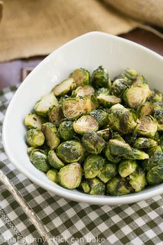 Honey Balsamic Brussels Sprouts    If you haven't roasted Brussels sprouts, this is a must try recipe!