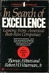 In Search of Excellence: Lessons from America's Best-Run Companies: Tom Peters reveals the top eight successful insights into the mechanisms of major American corporations. Books For Moms, Good Books, Books To Read, Free Books Online, Reading Online, Management Books, Free Reading, The Book, About Me Blog