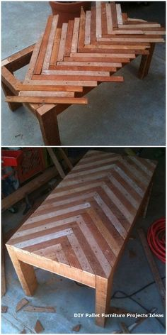 35 unique project ideas for pallet furniture from Diy Pallet Furniture DIY Furniture ideas Pallet Project Unique woodworking The Effective Pictures We Offer You About Woodworking Techniqu Wooden Pallet Table, Wooden Pallet Projects, Wood Pallet Furniture, Woodworking Projects Diy, Woodworking Furniture, Wooden Pallets, Pallet Wood, Pallet Ideas, Wood Tables