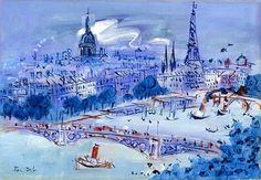 Grand Colorist ... Enchanting ... Raoul Dufy                                                                                                                                                                                 Plus
