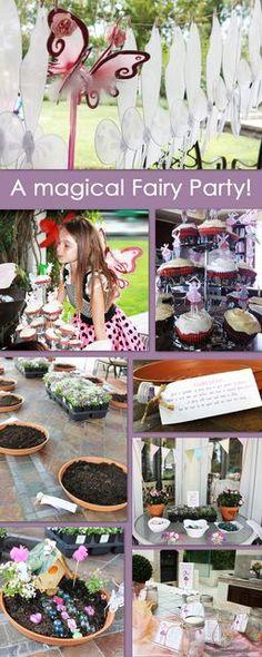 "Photo 31 of 55: Fairy Garden Party / Birthday ""Emelia's Magical Fairy Garden Party"" | Catch My Party"