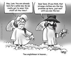 David Bowie und Lemmy Kilmister im Himmel - lifestyle.everkiosk.com