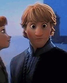 What happens when you reverse a kiss from Frozen? Hilarity in gif form.