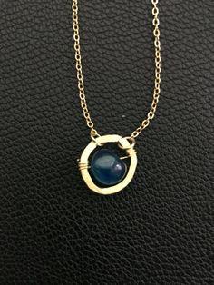 handmade boho style dainty charm necklace by PopandLocket on Etsy
