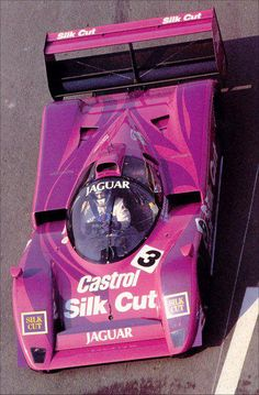 Derek Warwick in a Jaguar XJR-14 during the 430km of Magny-Cours, 1991