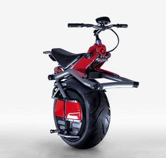 RYNO : One-wheeled, self-balancing electric motorcycle - Still a trip!