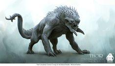 Jotunheim Monster - Thor Concept Art