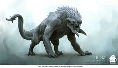 Jotunheim Monster - Thor Concept Art
