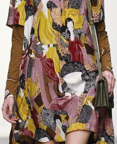 patternprints journal: PRINTS, PATTERNS, TEXTURES AND TEXTILE SURFACES FROM NEW YORK FASHION WEEK (WOMENSWEAR F/W 2015-16) / Karen Walker