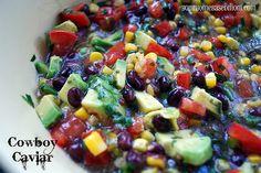 Cowboy Caviar (dip w/tortilla chips)