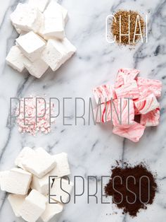 Winter Marshmallow Trio: Chai, Peppermint and Espresso | Annie's Eats