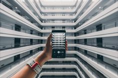 Take to a new level! Unsplash (Public Domain) #FreeToEdit #hand #people #telephone #cellphone #object #picture #lines #white #smartphone