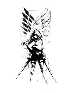 Attack on titian mikasa i think Levi X Eren, Levi Ackerman, Armin, Attack On Titan Tattoo, Attack On Titan Anime, Attack On Titan Ships, Fanarts Anime, Manga Anime, Anime Art