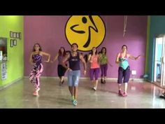 """""""bailando"""" (enrique iglesias) / ZUMBA IVAN MONTERREY feat. ZUMBA CHARITY - YouTube"""