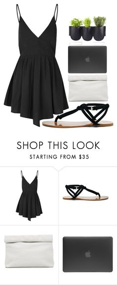 """///"" by gabriellenatasha ❤ liked on Polyvore featuring Glamorous, Sole Society, Marie Turnor, Incase and Authentics"