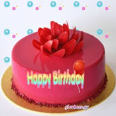 Sweet Birthday Quotes, Birthday Wishes Cake, Happy Birthday Flower, Happy Birthday Messages, Happy Birthday Images, Happy Birthday Greetings, Birthday Board, Birthday Gifs, Images Gif
