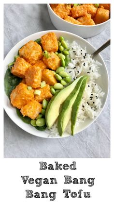 A baked version of Bang Bang Tofu I love anything that is breaded in some panko and fried up! It's a delicious way to eat vegetables, tofu…literally anything. However, let's skip …