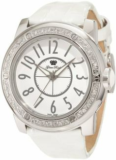 Glam Rock Women's GR50001D Aqua Rock Diamond Accented White Dial White Leather Watch Glam Rock. $297.86. Save 57% Off!
