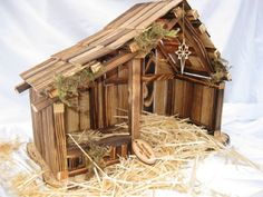 Details about Woodtopia Nativity Willow Tree Nativity, Nativity Creche, Nativity Stable, Primitive Christmas Crafts, Christmas Nativity, Xmas Crafts, Halloween Christmas, Diy Halloween, Christmas Ideas