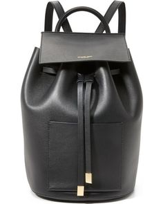 Must-Have Deals for Fashion Backpacks Black Leather Backpack, Leather Bags, Replica Handbags, Designer Backpacks, Michael Kors Collection, Cool Street Fashion, Street Style, Michael Kors Bag, Bucket Bag