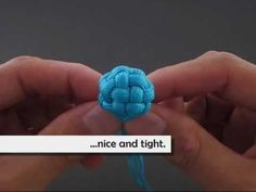 "Paracord Fusion Ties - Volume 1: http://www.amazon.com/Paracord-Fusion-Ties-Volume-Bundles/dp/098555780X The ""Tiny Globe Knot"" is an innovative way of tying a standard Globe Knot that makes use of a forefinger for ""knotting support"". I've been watching others tie Globe Knots (online) for a while now and I've enjoyed the products created. Thus, t..."
