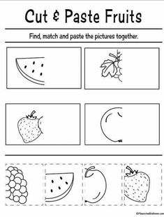 FREE printable cut and paste worksheets for preschool FREE printable cut and paste worksheets for preschool,Lernen im Kiga Fun cut and paste worksheets for preschool FREE printable. Perfect for fine motor skills and preschool. Cutting Activities For Kids, Preschool Cutting Practice, Preschool Homework, Pre K Activities, Preschool Learning Activities, Free Preschool, Preschool Lessons, Cutting Practice Sheets, Homework For Preschoolers