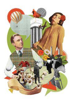 Ciara Phelan  #collage #ciaraphelan Various by Ciara Phelan - www.ciaraphelan.com