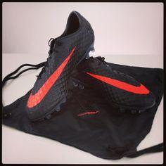 Nike Hypervenom Phantom FG - Dark Charcoal...with shoe bag...$202.49...HOT!