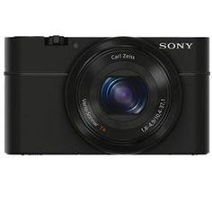 "Sony Cyber-Shot DSC-RX100 Digital Camera, 20.2Mp, 1"" Exmor CMOS Sensor, 3"" Xtra Fine OLED Display, F1.8 Carl Zeiss Vario-Sonnar T* lens with 3.6x zoom - Black - #AdoramaGear"