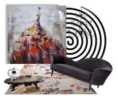 """Dance of Life"" by ildiko-olsa on Polyvore featuring interior, interiors, interior design, home, home decor, interior decorating, ESPRIT, Yosemite Home Décor, Altreforme and Gubi"