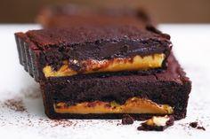 Chocolate caramel tart.  Have to convert amounts
