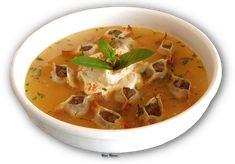 Armenian Manti Soup -- Mantabour