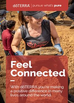 We are more than just an essential oil company. We are a global family of growers, harvesters, distillers, scientists, practitioners, advocates of change, and you. The strength of dōTERRA is more than our commitment to pursue the purest oils in the world. Our strength is our commitment to you and every other individual in our global family, because we all deserve to feel empowered and strong.