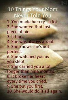 A little cheesy, but as a mom, so true!!