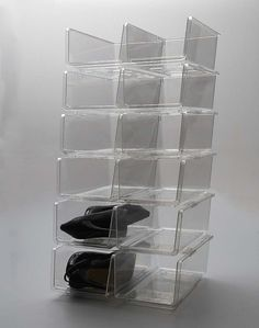 Charmant These Stackable Shoe Bins Are A Good Value Option If You Fancy Something  Different To Our