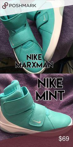 Nike Mint Sneaker ✅ Nike Soft on the eyes in mint, soft on the feet like butter. Marxman. Nike Shoes Sneakers