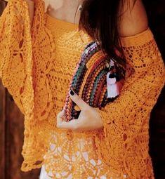 ergahandmade: Crochet Top - Bolero + Diagrams