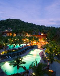 Pampering at the Four Seasons  #CostaRica at Peninsula Papagayo includes chilled towels delivered straight to your #pool chaise. @Four Seasons Hotels and Resorts // Slideshow: Best Hotels in Costa Rica